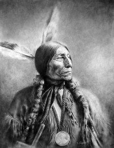 Chief Wolf Robe - Native American