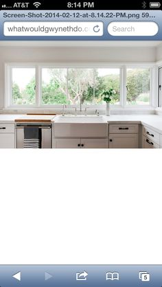 Wonderful white kitchen