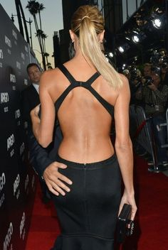 sexy-back, hand on that assss Mode Style, Style Me, Sexy Dresses, Beautiful Dresses, Backless Dresses, Dress Backs, Dress Up, Stacy Keibler, Mode Inspiration