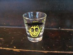 Roving Eyes vintage novelty shot glass S-SDelightful NICE | eBay.  Free at yard sale.