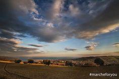 """Porto San Giorgio - #Fermo by  @mr_foffo  """"Le Marche""""  Buona Domenica amici❤"""