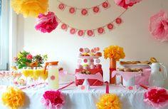 A birthday brunch arrangement