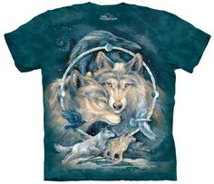 Wolf T-Shirt | In Spirit I am Free Adult