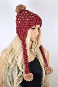 f967f2c1c8c Lovful Women Girl Rabbit Plush Soft Winter Warm Hoodie Gloves Pocket Hat  Scarf