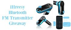 Participate+and+win+a+iHreesy+Bluetooth+FM+Transmitter+and+Car+Charger