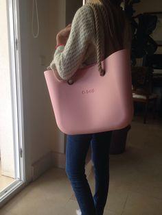 O bag en rosa claro