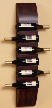 Wall Mount Wine Racks Our Favorite Modern Decor Wood Racks