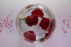 centrotavola con rose festa laurea