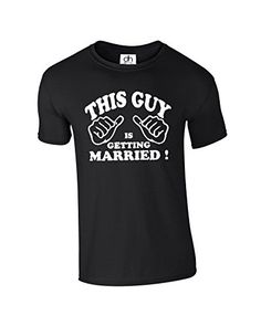 This Guy Is Getting Married ! Stag Do Wedding Gift 4 Colours XS-3XL (