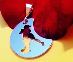 Ciondolo tango Lunita oro bianco Adornos, by Adornos Gioielleria Artistica, 32,00 € su misshobby.com