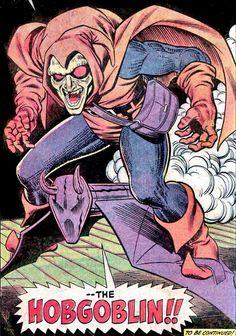 Comic Book Artists, Comic Book Heroes, Comic Artist, Comic Books Art, Spiderman Art, Amazing Spiderman, Hobgoblin Marvel, John Romita Jr, Marvel Villains
