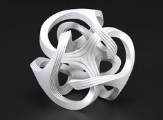 3 Dimensional printing in metal. The work goes from computer aided design to the 3D printing process.