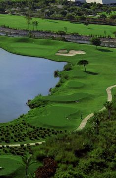 Cocotal Golf & Country Club in Punta Cana. 27-hole golf course that belongs to the Melia & Paradisus Resorts.