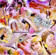 Radha Krishna Holi, Radha Krishna Quotes, Radha Krishna Pictures, Krishna Photos, Krishna Love, Radhe Krishna, Lord Krishna, Spiritual Love, Radha Krishna Wallpaper