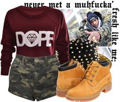 """""""i think i have a f**kin problem."""" by crayolamusic ❤ liked on Polyvore"""