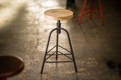INDY Furniture : Indy Adjustable Stool Mid Range Adjustable Stool, Bench Stool, Bar Stools, Indie, Weave, Chairs, Range, Furniture, Home Decor