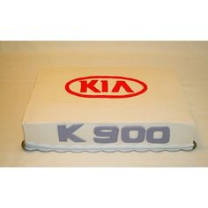 Cake for KIA to celebrate the launch of the new K 900 car http://instagram.com/wellkneadedbakery