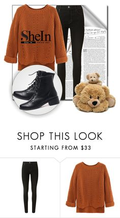 """""""SheIn6"""" by irmica-831 ❤ liked on Polyvore featuring J Brand and WithChic"""