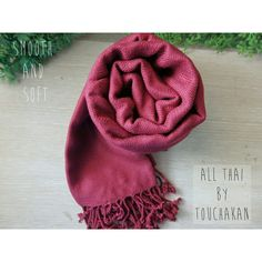 Check out our new color on handmade scarf! Free Thai Elephant keyring every order!