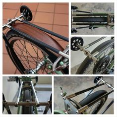 Ti-Carbon rack for Brompton