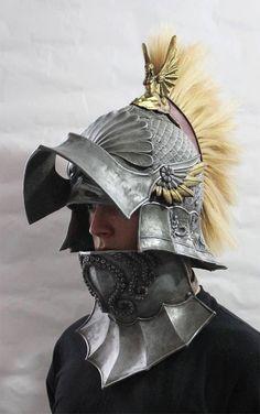 Poseidon Sallet Helmet. £300.00, via Etsy.