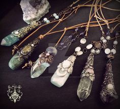 Various gemstone pendant