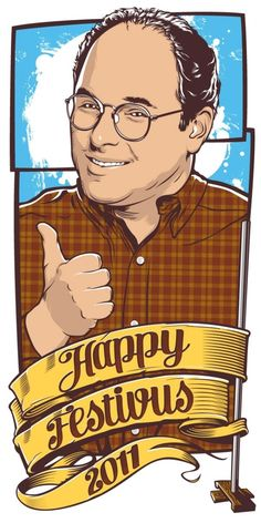 happy festivus. Joshua Budich