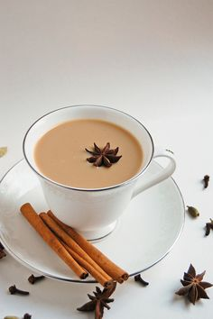 Chai tea is an excellent way to start your day. Sweet, spiced, and leaves you feeling like you've done something good for your body. Pumpkin chai for extra flavor!