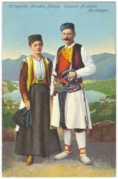 Montenegro traditional clothing - Google Search