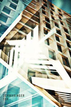 #SchwabingerTor #Art #Boheme #abstract #building #Schwabing #München