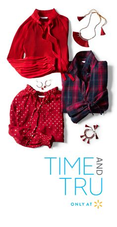 e7893a3b 12 Best Holiday Apparel Time and Tru Luid images