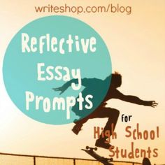 reflective essay topics high school