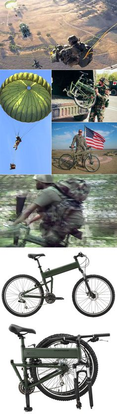 Military folding bikes: The 82nd Airborne Division can now pop wheelies. How do you JMPI this thing.