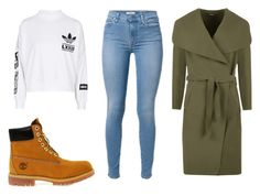 """""""Chill Day"""" by amuramasri on Polyvore featuring mode, Timberland, WearAll en adidas"""