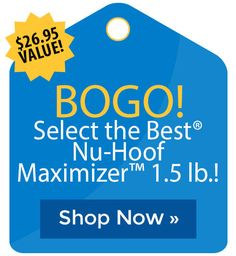 BOGO! Select the Best� Nu-Hoof Maximizer� 1.5 lb.! Cyber Monday Sales, Holiday Deals, Black Friday Deals, Mind Blown, The Selection, Good Things