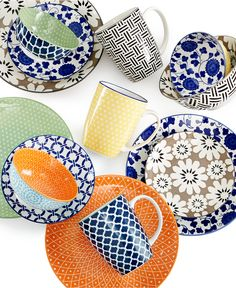 Certified International Chelsea Mix & Match Collection - Dinnerware - Dining & Entertaining - Macy's