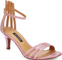 "Kay Unger ""Basque"" Sandals"
