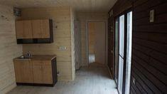 Dom modułowy | Ticab House Outdoor Decor, Kitchen Furniture, Interior, Heating Systems, Floor Coverings, Home Decor, Bathroom Mirror, Framed Bathroom Mirror, Shower Cabin
