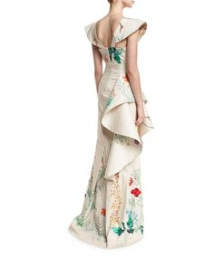 Johanna Ortiz Bodysuit & Skirt