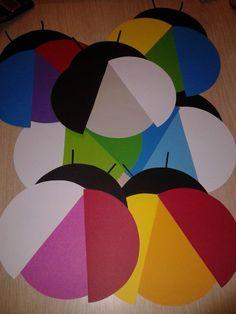 kleuren mengen Lieveheersbeestjes