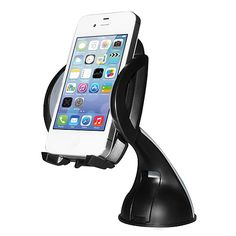 Mount your phone or mobile device on your car's windshield or dashboard with the GripTalk Car Phone Mount. It's easy to set up and the sticky pad holds your phone tightly without leaving an annoying residue.