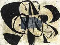 Joan Miro ~ PLEASE COMMENT on pin if you know the following: date, title, medium and size of the work. Thank you!