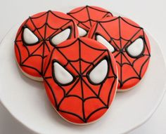 Galletas de Spiderman Paso a Paso