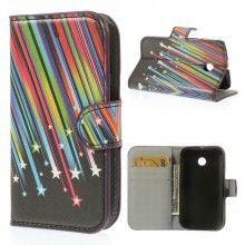 Buchdesign Tasche für Motorola Moto E Nature Design Meteoriten 1 7,99 €