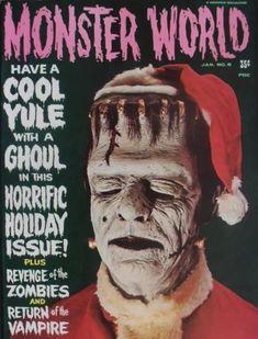 Horror & Monster Magazine Back Issues Frankenstein Makeup, Sisters Magazine, Famous Monsters, Horror Monsters, Horror House, Vampire, Vintage Horror, Monster Art, Pulp Fiction