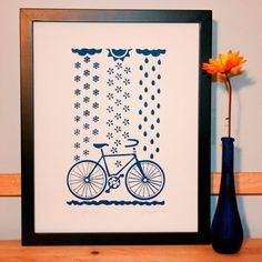 Siempre es temporada de bicicletas Snow. Sun. Rain. #Bike for life.