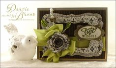 Crafting with Darsie: JustRite Background Stamps...