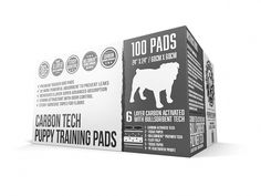 Bulldoglogy Premium Black Carbon Puppy Pee Pads with Adhesive Sticky Tape - Large Housebreaking Dog Training Wee Pads 6 Layers with Extra Quick Dry Bullsorbent Polymer Tech Training Pads, Dog Training Tips, House Breaking Dogs, Black Puppy, Positive Reinforcement, How To Train Your, New Tricks, Going To Work, Adhesive