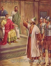 Paul's Appeal to Caesar Through Festus