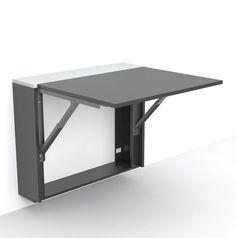 Mesa auxiliar / moderna / plegable / rectangular LONDON by Gorka Bujidos Evuala                                                                                                                                                                                 Más